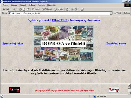 Filatelie a internet XV.