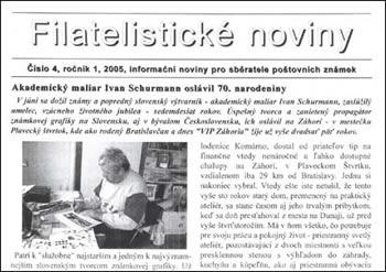 Filatelistické noviny 4/2005
