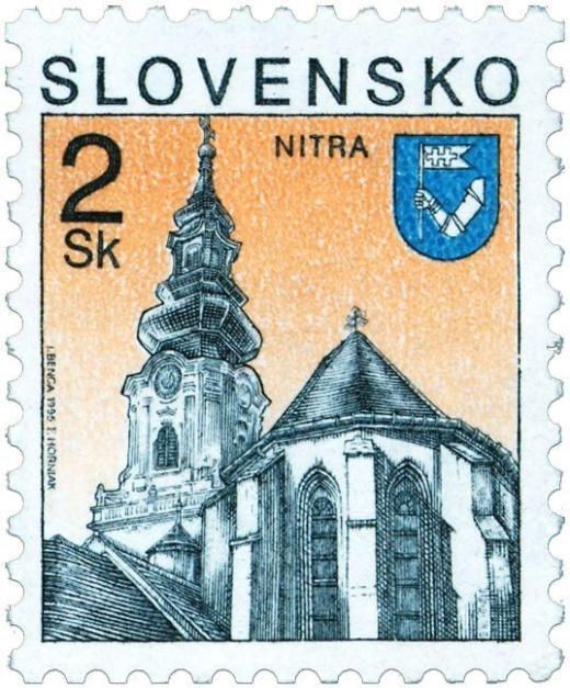 Filatelistické překvapení na hradě ve slovenské Nitře