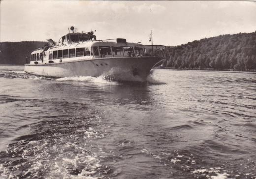 Flotila hydrobusů Vranovské přehrady