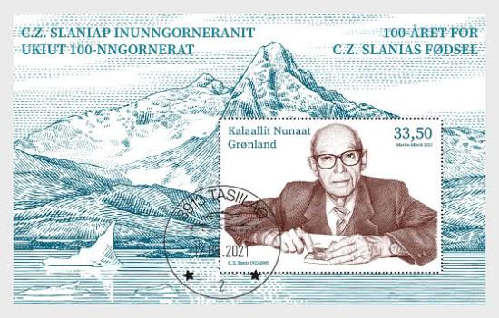 Grónská pošta si připomíná 100 let od narození slavného rytce svých známek