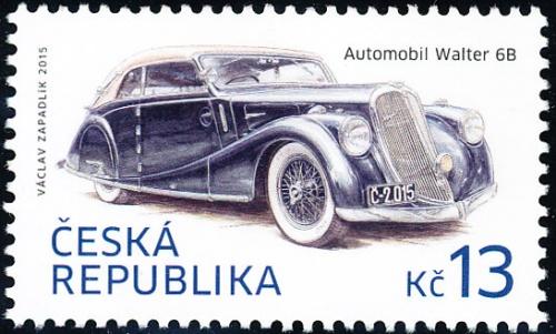 Historické dopravní prostředky - automobil Walter 6B, 1935