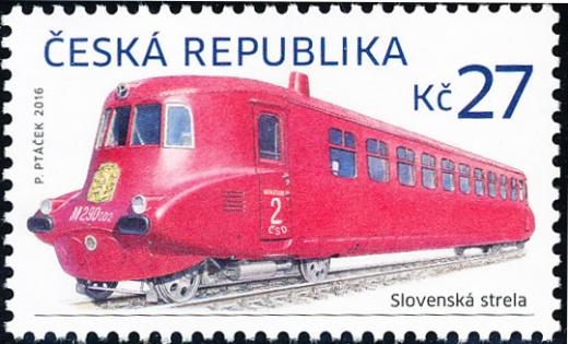 Historické dopravní prostředky - Slovenská strela