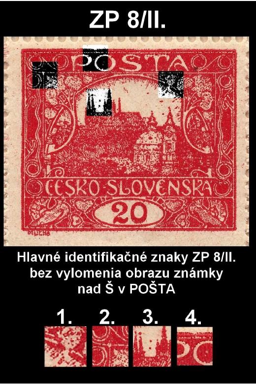 Hradčany 20 hal. karmínová 8/II