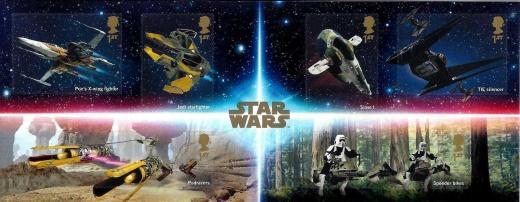 Hvězdné války a mladí filatelisté