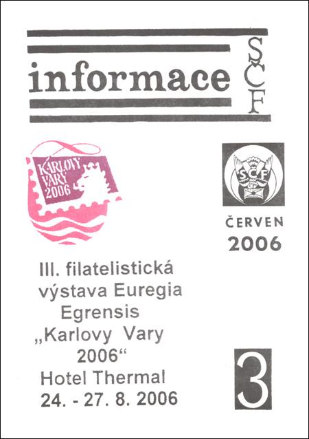 Informace SČF 3/2006