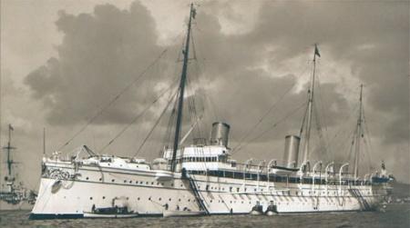Jachta Hohenzollern kontra Aurora