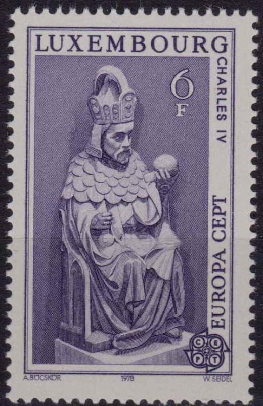 Jindřich VII. - dědeček Karla IV.