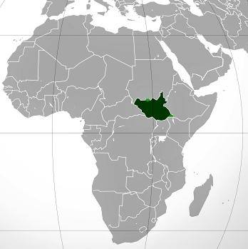 Jižní Súdán - nová známková země