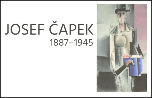 Josef Čapek - známkový sešitek