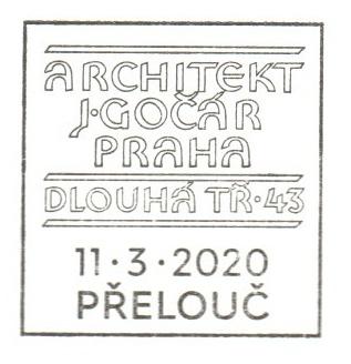 Josef Gočár a architektura Hradce Králové - aršík