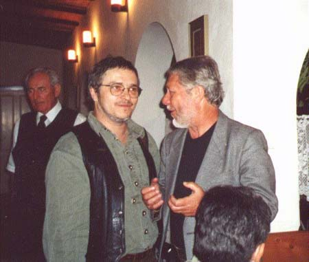 Jubilant  Martin Činovský  vystavoval v Londýne (2003)