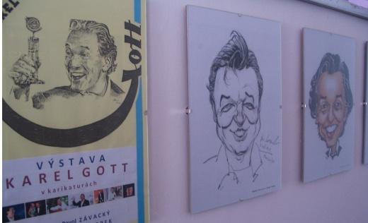 Karel Gott na známkach