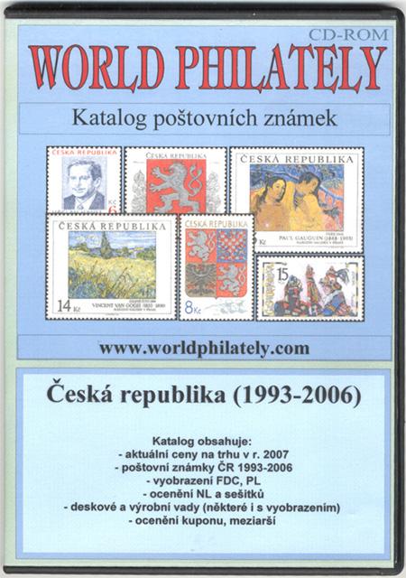 Katalog poštovních známek - Česká republika (1993-2006) - World Philately 2007 - NOVINKA!