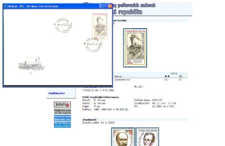 Katalog poštovních známek - Česká republika (1993-2008) - World Philately 2009 - NOVINKA!
