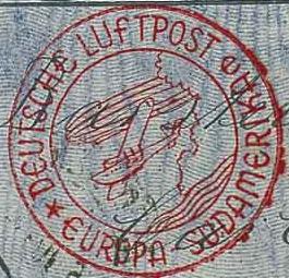 Katapultová pošta do Jižní Ameriky