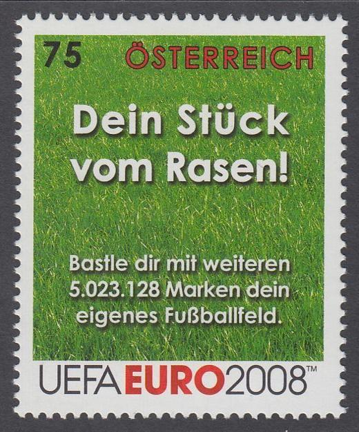 Kolika známkami pokryjeme fotbalový stadion?