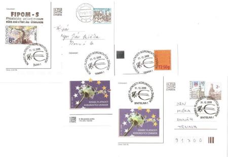 Koniec  platnosti  slovenských  korunových známok