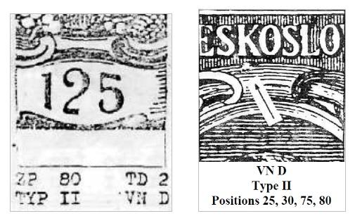 Krátka priečka hodnoty 125 h TGM 1920