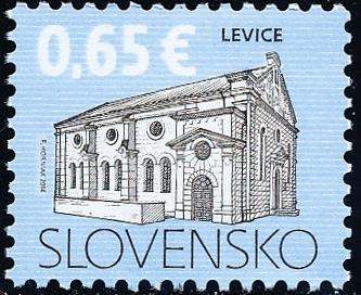 Kultúrne dedičstvo Slovenska: Synagóga v Leviciach