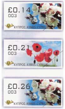 Kypr – samolepící známky 'Jaro'
