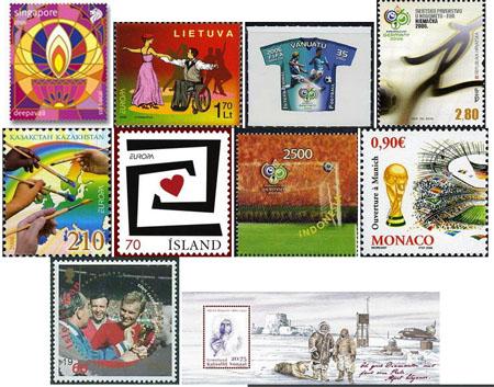 Letní výběr nových známek