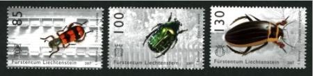 Liechtensteinsko  2007, 2008, 2009 - brouci