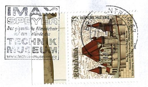Malý žertík Německé pošty?