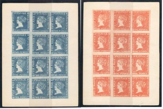 Mauritius - Sherwinovo vydání 1859