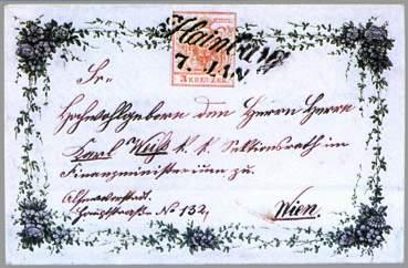 Merkur-Revue: K historii ozdobných dopisů
