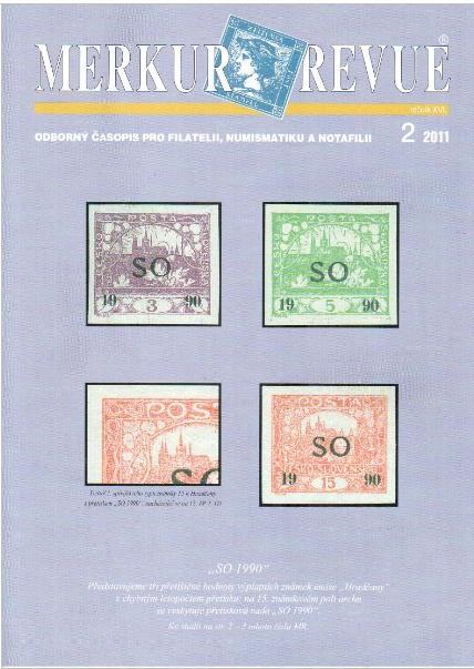 Merkur-Revue - odborný časopis pro filatelii, numismatiku a notafilii