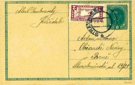 Merkur-Revue: Předběžné a souběžné čs. známky rakouského původu