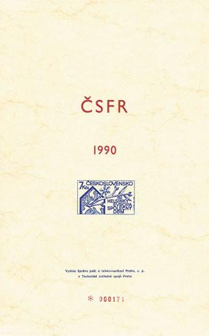 Merkur-Revue: Ročníková alba ČSSR a ČSFR z let 1989-92