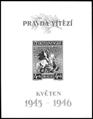 Merkur-Revue: Typy známek Československa a České republiky