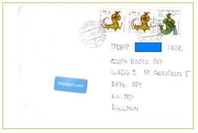 Mírové mise a poštovní dokumenty