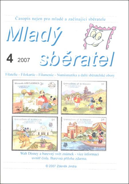 Mladý sběratel 4/2007