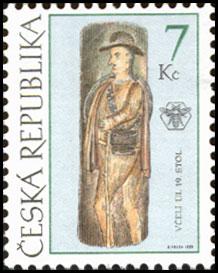 Motív včiel a včelárstva na poštových známkach IX.