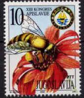 Motív včiel a včelárstva na poštových známkach VIII.