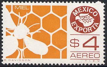 Motív včiel a včelárstva na poštových známkach X.