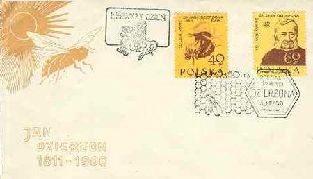 Motív včiel a včelárstva na poštových známkach XII.