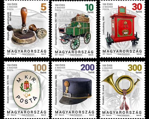 Nové maďarské výplatní známky