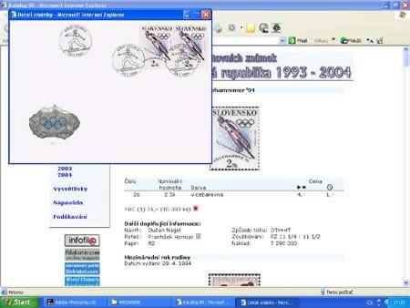 Novinka: CD-ROM World Philately 2005 - Slovenská republika (1993-2004)