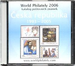 Novinka: CD-ROM World Philately 2006 – Česká republika (1993-2005)