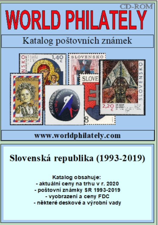 Novinka - ceník poštovních známek - Slovenská republika (1993-2019) - World Philately 2020