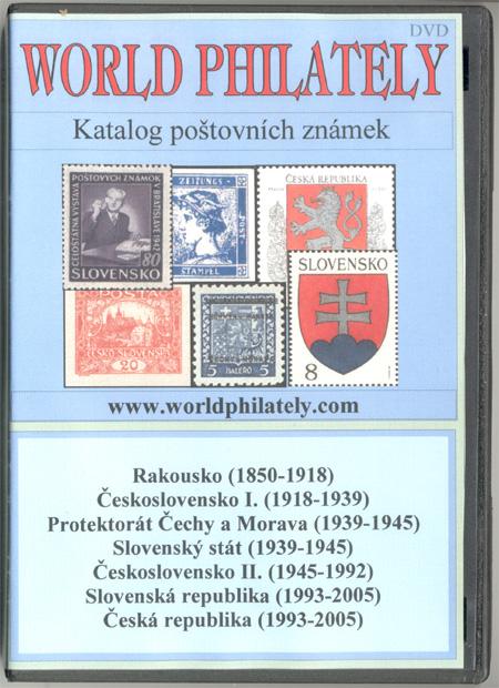 Novinka: DVD katalog poštovních známek World Philately 2007 - 7 zn. zemí