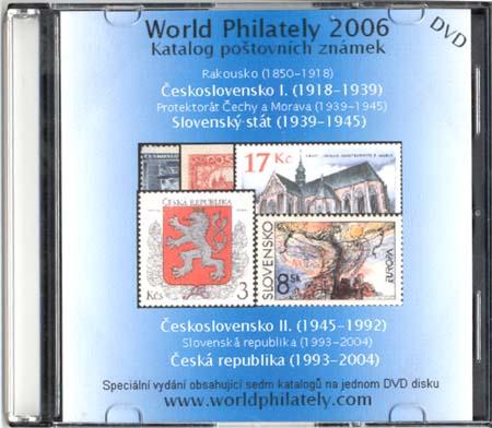 Novinka: DVD World Philately 2006 - 7 zn. zemí