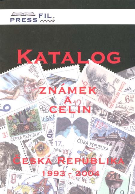 Novinka: Katalog známek a celin Česká republika 1993-2004