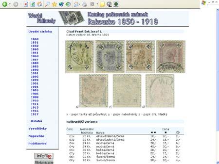 Novinka roku: CD-ROM World Philately 2005 – Rakousko  (1850-1918)