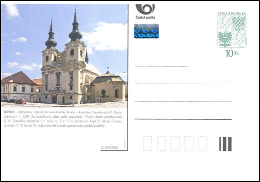 Obrazové dopisnice s motivy církevních památek České republiky