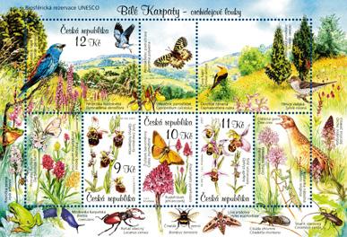 Ochrana přírody: Bílé Karpaty - orchidejové louky - biosférická rezervace UNESCO